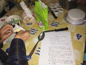 Atelier cuisine au Bon Accueil