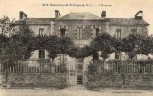 L'hospice de Montauban de Bretagne en 1869