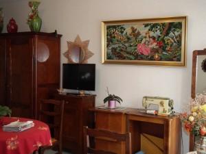 Une chambre de résident