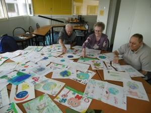 Jury du concours de dessins
